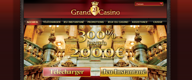 21Grand Casino Screenshot
